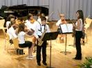 Audición Palau 2003. Pequeña Orquesta de violines con la colaboración del saxo.